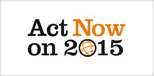 Act Now on 2015 Logo